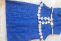 Платье, куртка adidas originals overhead downparka rich blue, Костек