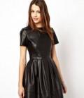 Кожаная куртка на меху цена, платье ASOS кожаное чёрное, Железноводск