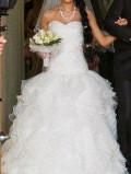 Полный свадебный набор-шикарное платье+ подарки, платье майка в полоску миди, Владивосток