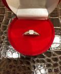 Кольцо из белого золота с бриллиантами, Нижневартовск