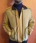 Мужская куртка Zero Plus (Испания) из натуральной, костюмы брючные больших размеров летние нарядные, Нижняя Павловка
