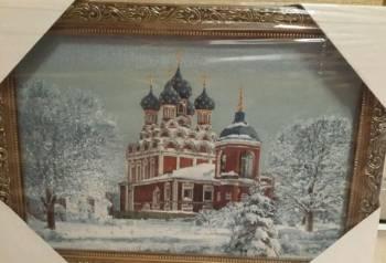"""Картина""""Тихвинский храм"""""""