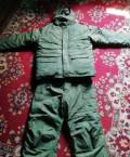Пуховик монклер из китая, зимний военный костюм Росгвардии. Размеры указаны, Ис