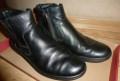 Ботинки мужские осенние б/у р.41, кроссовки асикс для бега зимой купить с шипами, Гусино