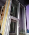 Оконные блоки со стеклом и форнитурой, Строитель
