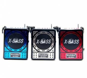 Радиоприемник waxiba USB SD фонарик аккумулятор XB