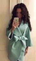 Кашемировое пальто, красивое платье для полной девушки, Измайлово