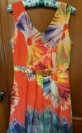 Платье 44р, платье с гипюром по низу, Курумоч