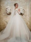 Белое платье свободного покроя, свадебное платье, Астрахань
