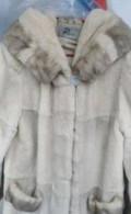 Весна белое платье, шуба, Бокино
