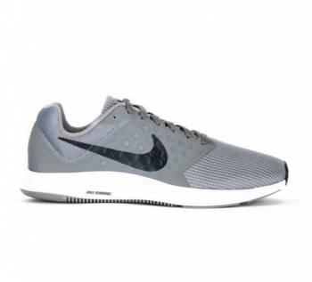 Беговые Кроссовки Nike 852459 Downshifter 7 сер, купить бутсы найк с носком по дешевой цене