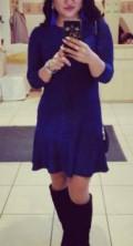 Платье, платье футляр с квадратным вырезом, Ялта