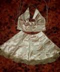 Платье с рюшами на плечах для полных, платье, Солонешное