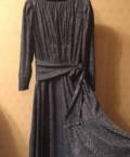Платье, темно-синее с люрексом, купить женскую одежду haglofs, Тула