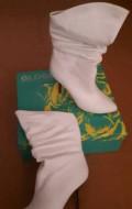 Белые туфли на небольшом каблуке, полусапоги женские, Эльбан