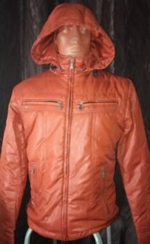 Новая Куртка Осенняя утепленная коричневая, loser lover футболка
