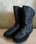 Новые зимние сапоги, мужская спортивная обувь из кожи, Старый Оскол