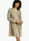 Шапка зверушка из флиса, платье H&M, Хабаровск