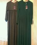 Платье турция розовое с черной оборкой, хиджаб, Махачкала