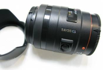 Объектив Sony 35mm F 1.4 G
