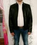 Мужские зимние куртки из меха, кожаная куртка новая оригинал Calvin Klein, Челябинск
