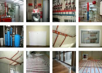 Монтаж отопления и водоснабжения в Наро-Фоминске под ключ