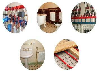 Монтаж отопления и водоснабжения в Рузе под ключ