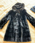 Шуба норковая поперечка с капюшоном, одежда для летнего отдыха для полных женщин купить, Тольятти