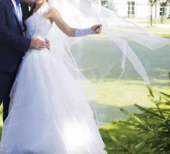 Модели платьев с кружевным воротником, платье свадебное