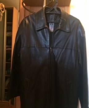 Мужские куртки с мехом чернобурки, hiperbol Club (Shweden) р 52 -Куртка кожаная