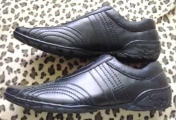 Черные туфли / мокасины, интернет магазин обуви совсем недорого