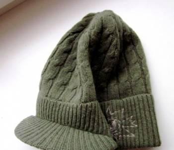 """Вязаный мужской свитер с молнией, шапка вязаная """"Volcom"""" Новая с этикеткой"""