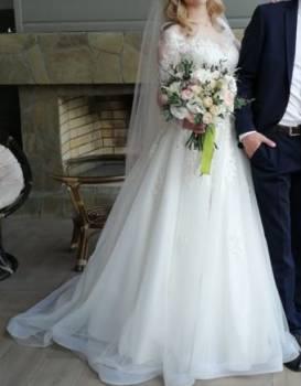 Свадебное платье, пальто женские демисезонные распродажа большие размеры в форме трапеции