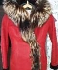 Свадебные платья terani, насыщенная дублёнка красного цвета из натурального, Кинель-Черкассы