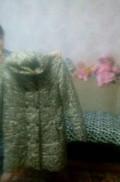 Платье с запахом бежевое с кружевом, пальто димесизонное, Воротынец
