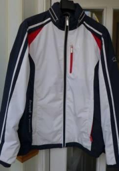 Куртка - ветровка спортивная новая, италия, оригин, деловой костюм для полных