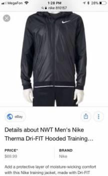 Nike куртка спортивная новая, спортивная одежда для женщин зима