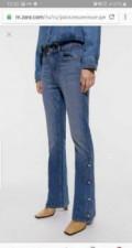 Платья в поле чудес, джинсы Zara новые, Дубовый Умет