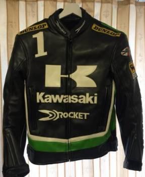 Мужские плавки брендовые, мотокуртка из кожзаменителя Kawasaki