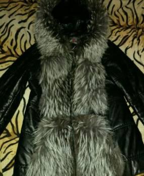 Интернет магазин женской одежды по низким ценам по россии, куртка-трансформер кожаная с чернобуркой