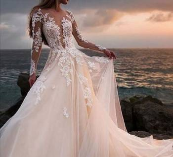 Новые свадебные платья 2019, вечерние платья страдивариус