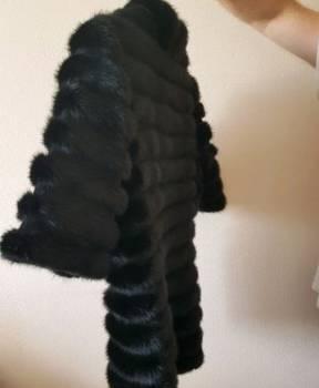 Zara платье черное кожаное, шуба