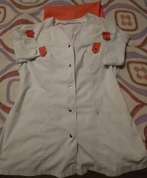 Медицинский костюм, платье комбинация на футболку