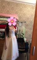Вечернее платье, платье глория джинс розовое с бантом, Красное Село