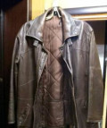 Мужская кожаная куртка, одежда от радиации раст, Рязань