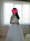 Платье свадебное, платье комбинация в пол, Обливская