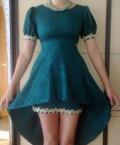 Платье + колье, платье цвета морской волны купить в оджи, Белогорск