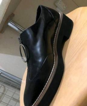 Туфли zara, кроссовки nike air force black