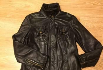 Куртка кожаная L, молодежная одежда для юношей интернет магазин