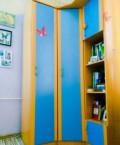 Двухэтажная кровать, шкаф и тумбочка в комплекте, Южноуральск